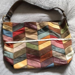 Vintage Lucky brand shoulder bucket bag